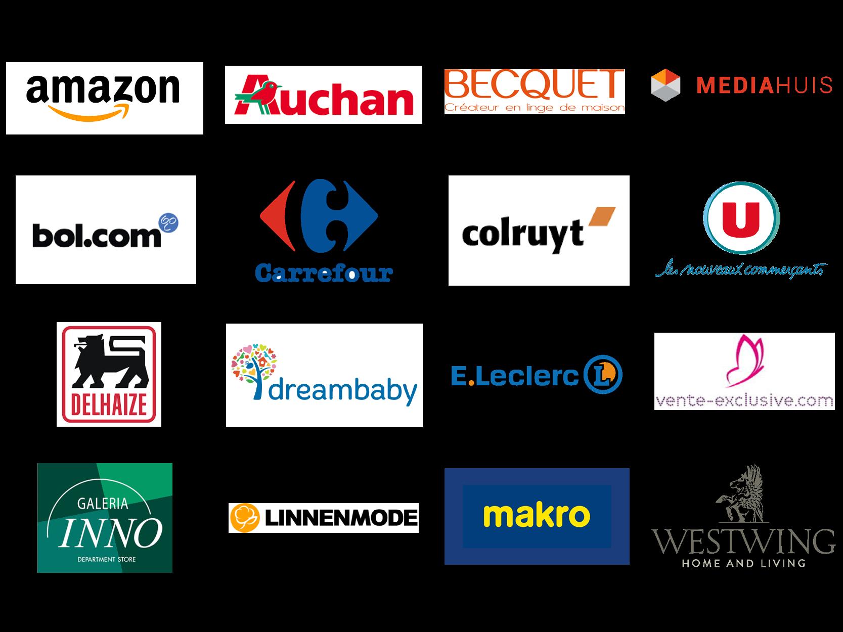 Enkele van onze B2C klanten